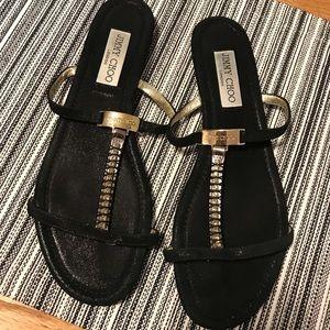 JIMMY CHOO gemstone sandals